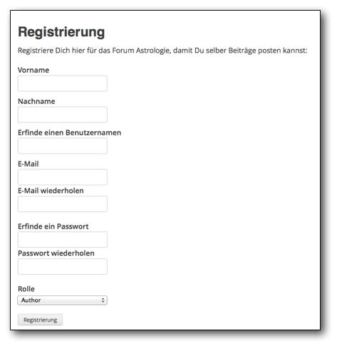 registrierung-forum