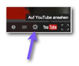 Youtube Auflösung einstellen